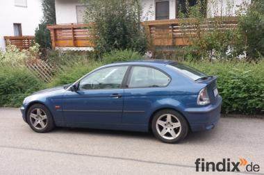 Verkaufe BMW 318 ti compact mit Hagelschaden!