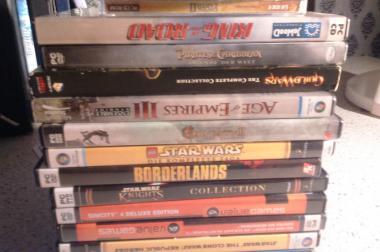 Verkaufe Diverese PC Spiele