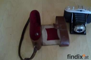 Verkaufe fotoapparat Agfa Isolette I Vario mit Tasche - Baujahr 1