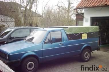 Verkaufe meinen Caddy1 / 14D LKW Zulassung