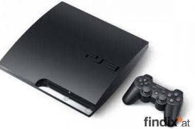Verkaufe playstation 3 Slim mit vier spielen und Zubehör