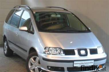 Verkaufe SEAT Alhambra Stylance Deluxe 1,9 TDI PD