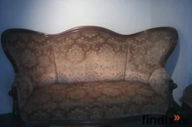 Verkaufe Sofa aus der Gründerzeit