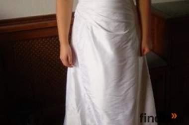 Verkaufe weißes Eintanzkleid