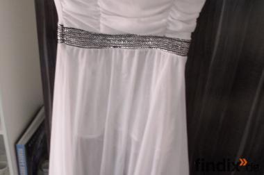 Verkaufe ein weißes Kleid Gr.42