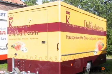 Verkaufsanhänger Borco Höhns - Neuweriger Zustand - TÜV