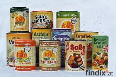 Verkaufsstelle für Suppen, Soßen und Gewürze gesucht !