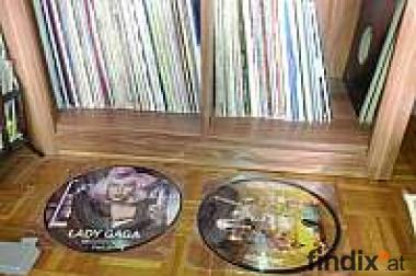 Vinyl Schallplatten Sammlung
