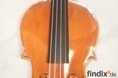 Violine 4/4 mit Kasten und Bogen, Mittenwald 1. Hälfte 20. Jh.