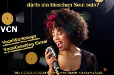 VocalIntensivTraining im Musikstudio in Moers