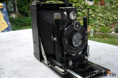 Voigtländer Compur Fotoapparat / Kamera ca. 1930er/40er