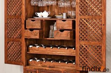 Waschmaschinenschrank Massivholz : Vorratsschrank aus massivholz für ihre küche