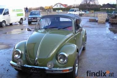 VW Kaefer 1300 Cabrio, olivgruen, garagengepflegt, Umbau