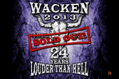 Wacken Tickets 2013 Rammstein Deep Purple Alice Cooper Motörhead
