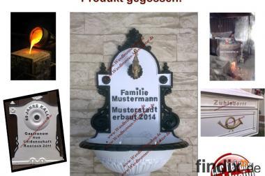 Wandbrunnen, Bassenas und Briefkästen individualisiert!