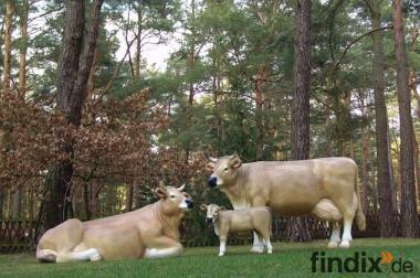 Warum nicht gleich eine ganze Deko Kuh Familie kaufen ...