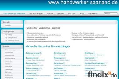 Webkatalog für Handwerker im Saarland