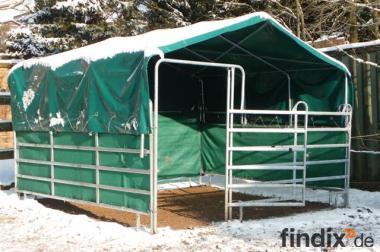 Weide-Zelt- Unterstand, Box-Überdachung, Lager-Zelt, Carport