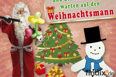 Weihnachtsmann Kindershow Zauberclown f. Sachsen,Sachsen/Anh.