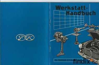 Werkstatt Handbuch Ford 12m G13