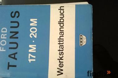 Werkstatthandbuch Ford 17/20m P5