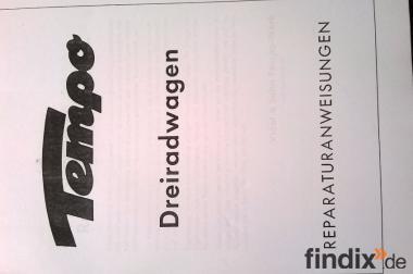 Werkstatthandbuch TEMPO Dreirad