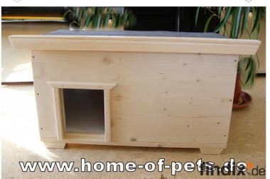 wetterfestes katzenhaus voll isoliert von catshome made in. Black Bedroom Furniture Sets. Home Design Ideas