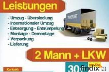 Wien Möbeltransport & Umzug Entrümpelung Günstig!!