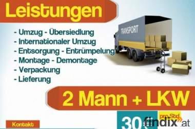 Wien Transport Umzug Übersiedlung Billig!!