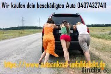 Wir kaufen dein defektes Auto auch Unfallauto 01724319420