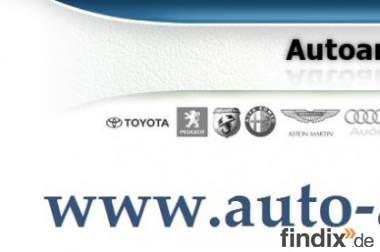 Wir kaufen fast alle Fahrzeuge aller Marken und Typen