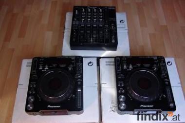 WTS New 2x Pioneer CDJ-1000MK3 & 1x DJM-800 Mixer DJ-Paket