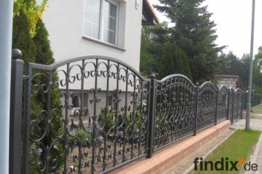 Zaun aus Polen Metallzaun aus Polen Schmiedezaun aus Polen
