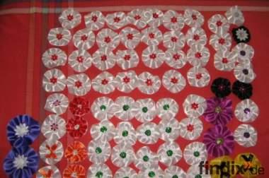 Zopfrosetten für Tanzmariechen und Garden