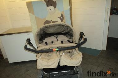 Zwillingskinderwagen Kinderwagen gebraucht guter Zustand