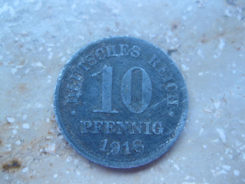 10 Pfennig Münze 1918 Deutsches Reich 389037