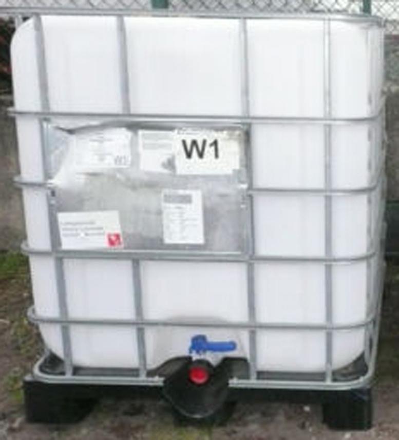 1000 liter wassertank 8 tank z b regentank gereinigt. Black Bedroom Furniture Sets. Home Design Ideas