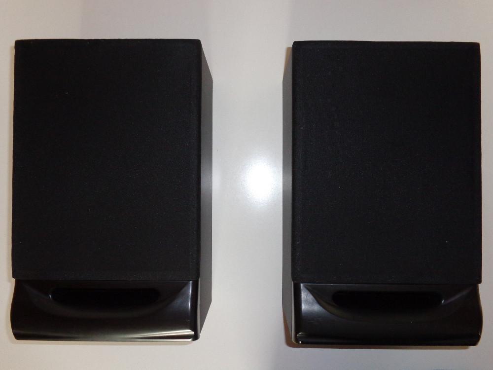2 boxen lautsprecher schwarz audio hifi musik 884313. Black Bedroom Furniture Sets. Home Design Ideas