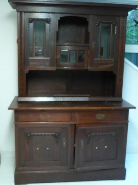 alter antiquarer schrank buffet anno 1900 26645. Black Bedroom Furniture Sets. Home Design Ideas