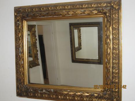 Spiegel Mit Bilderrahmen alter bilderrahmen mit integriertem spiegel 285518