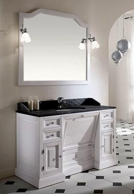 badezimmerm bel wei antik. Black Bedroom Furniture Sets. Home Design Ideas