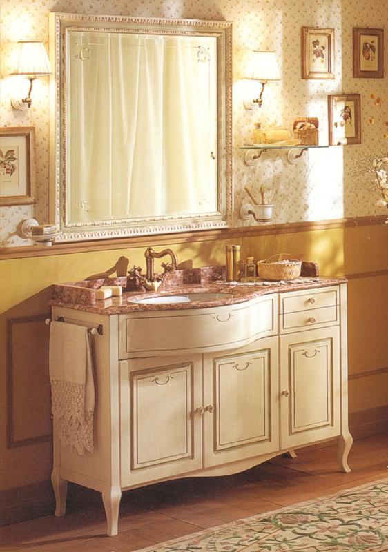 badezimmermobel weis antik, antik weißes badmöbel old line - 829110, Design ideen