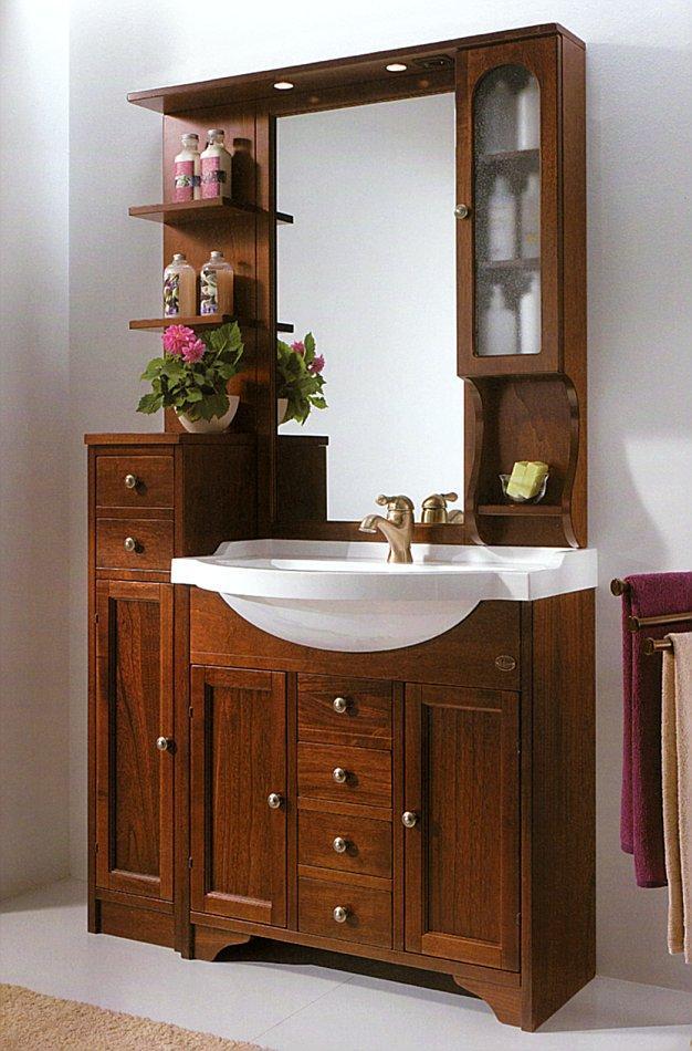 badezimmerm bel im landhausstil 86 cm breit 830618. Black Bedroom Furniture Sets. Home Design Ideas