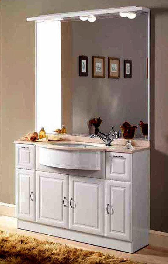 badm bel aus massivholz mit gro en spiegel 857769. Black Bedroom Furniture Sets. Home Design Ideas