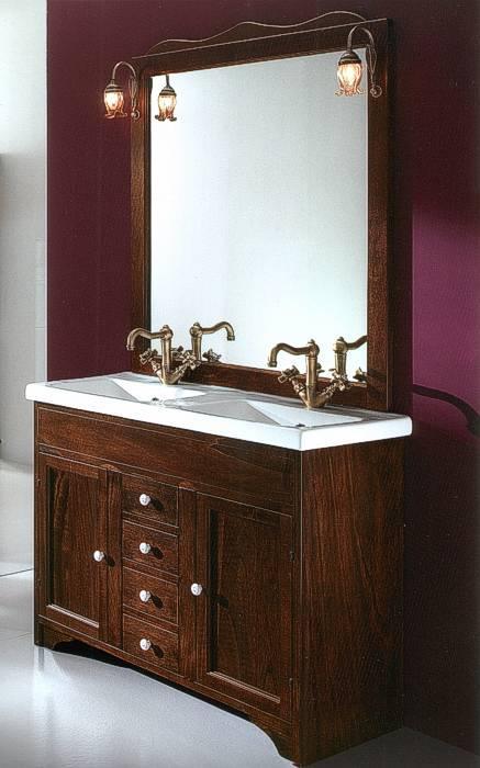 badm bel francesca 105 cm doppelwaschtisch 14145. Black Bedroom Furniture Sets. Home Design Ideas