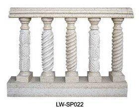 balustraden marmor und granit 196984. Black Bedroom Furniture Sets. Home Design Ideas
