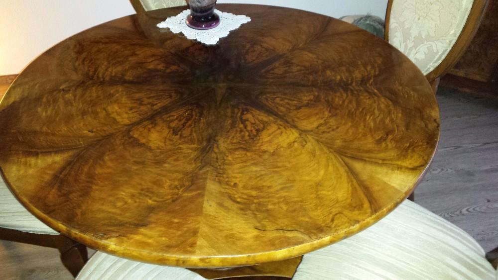 Was Ist Ein Biedermeier zu verkaufen ist ein biedermeier esstisch mit wurzelholz um 1840 888427