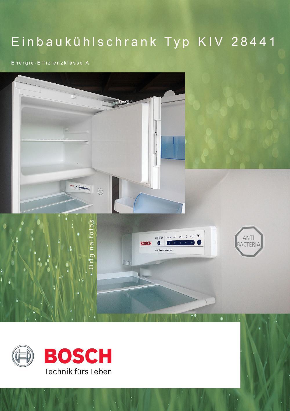 bosch einbauk hlschrank mit gefrierfach schn ppchen nur 99 euro 843274. Black Bedroom Furniture Sets. Home Design Ideas