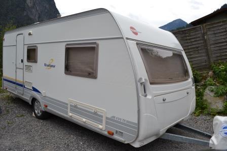 b rstner ventana 490 tk wohnwagen mit klima luxus. Black Bedroom Furniture Sets. Home Design Ideas