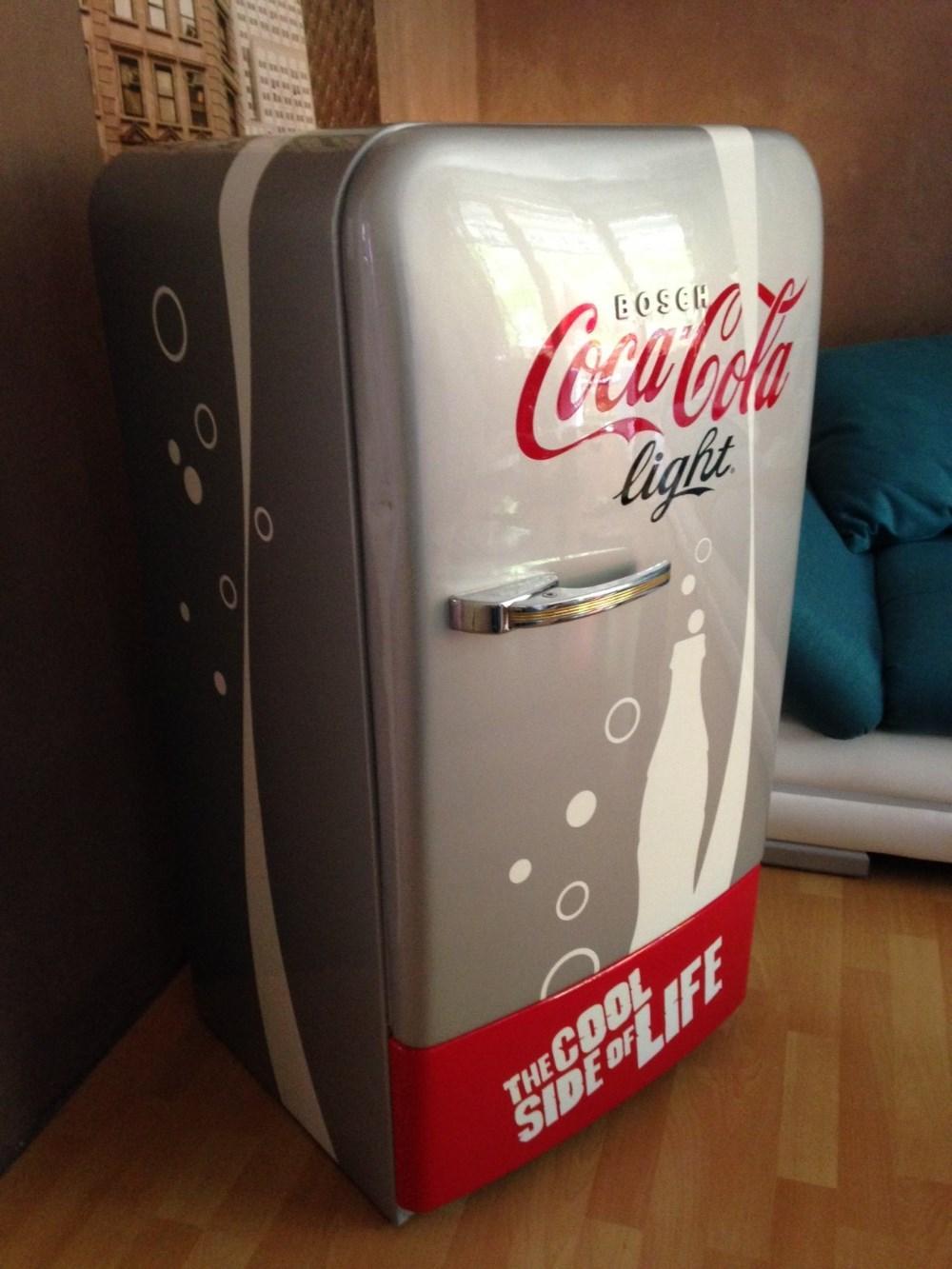 Großartig Glaskühlschrank Coca Cola Bilder - Die besten ...